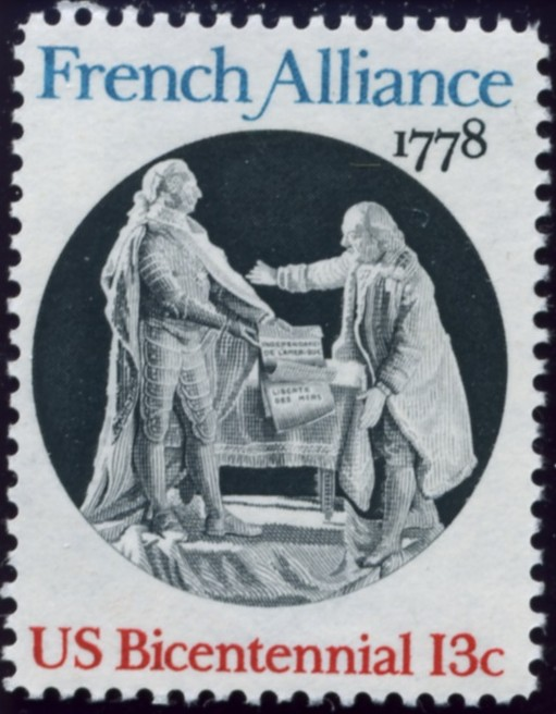 Scott 1753 13 Cent Stamp French Alliance