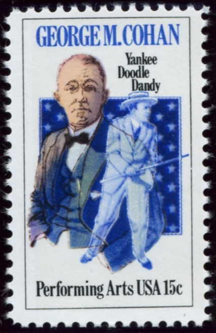 Scott 1756 15 Cent Stamp George Cohan