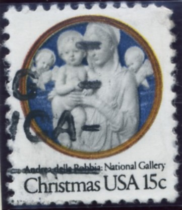 Scott 1768 15 Cent Christmas Stamp Madonna and Child