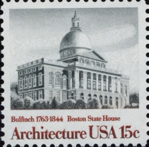 Scott 1781 15 Cent Stamp Architecture Boston State House