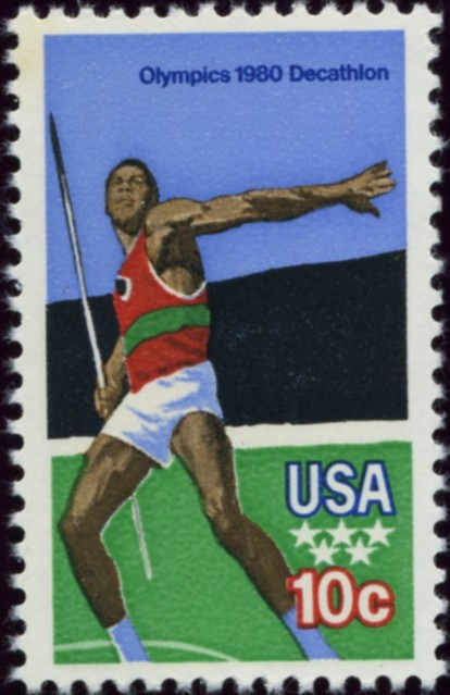 Scott 1790 10 Cent Stamp 1980 Olympics Decathlon