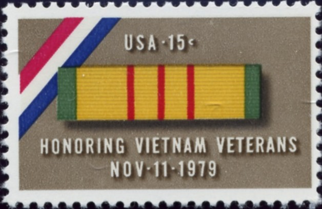 Scott 1802 15 Cent Stamp Honoring Vietnam Veterans
