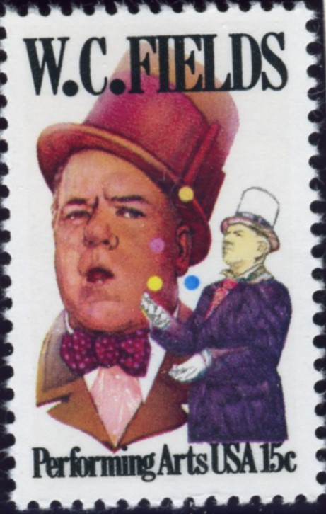 Scott 1803 15 Cent Stamp W C Fields