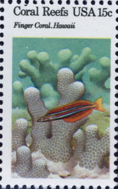 Scott 1830 15 Cent Stamps Finger Coral Hawaii
