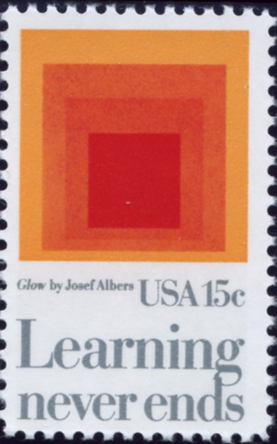 Scott 1833 15 Cent Stamp Learning Never Ends