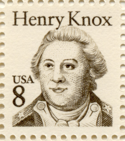 Scott 1851 Henry Knox 8 Cent Stamp