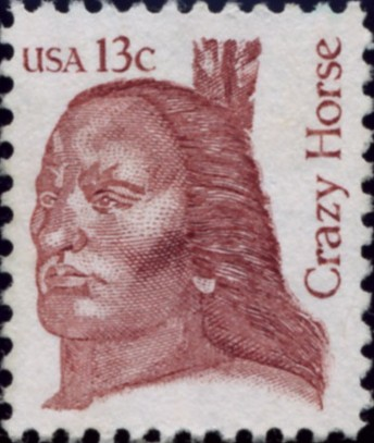 Scott 1855 13 Cent Stamp Crazy Horse