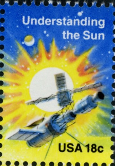 Scott 1915 18 Cent Stamps Space Exploration Understanding The Sun