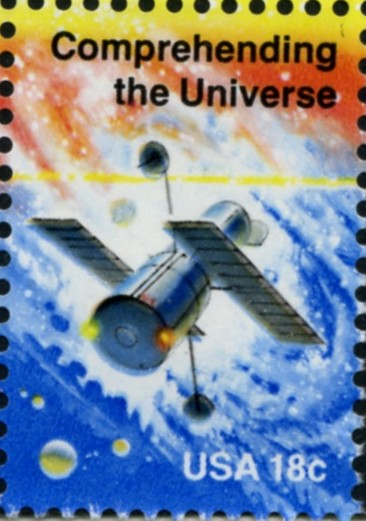 Scott 1919 18 Cent Stamp Space Exploration Comprehending The Universe