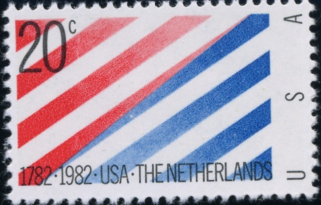 Scott 2003 20 Cent Stamp Netherlands