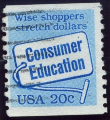 Scott 2005 20 Cent Coil Stamp Consumer Education