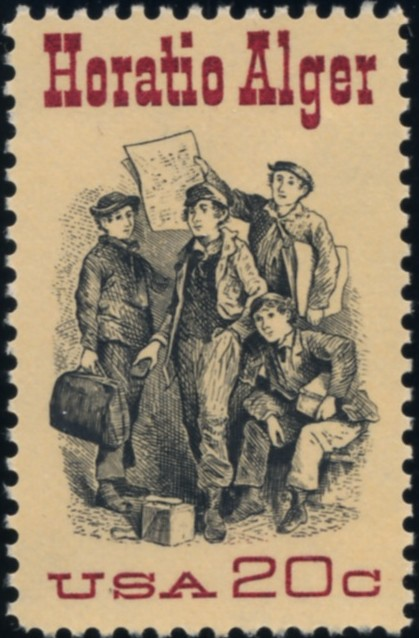 Scott 2010 20 Cent Stamp Horatio Alger