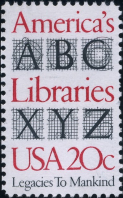 Scott 2015 20 Cent Stamp America's Libraries