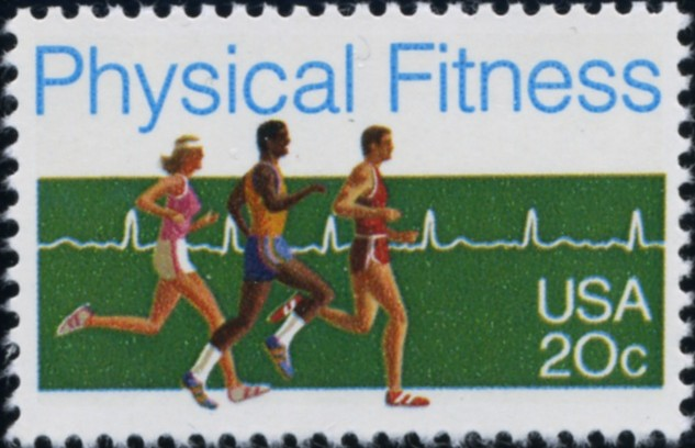 Scott 2043 20 Cent Stamp Physical Fitness