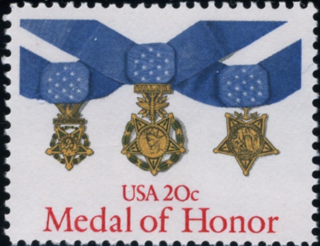 Scott 2045 20 Cent Stamp Medal Of Honor