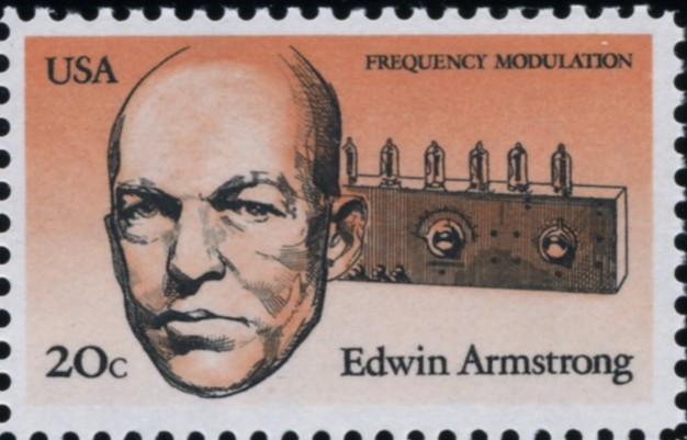 Scott 2056 20 Cent Stamp Edwin Armstrong Frequency Modulation