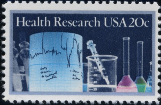 Scott 2087 20 Cent Stamp Health Research