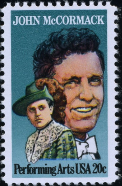 Scott 2090 20 Cent Stamp Performing Arts John McCormack
