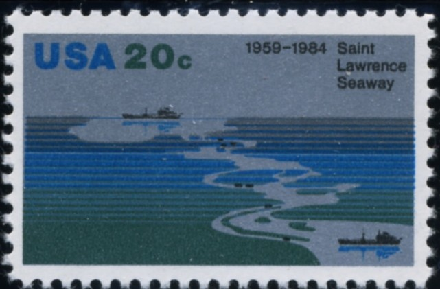 Scott 2091 20 Cent Stamp Saint Lawrence Seaway