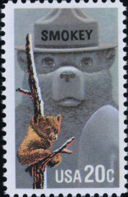 Scott 2096 20 Cent Stamp Smokey The Bear