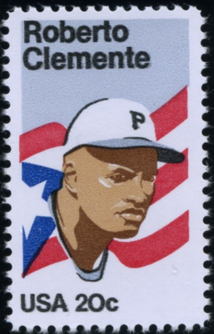 Scott 2097 20 Cent Stamp Roberto Clemente