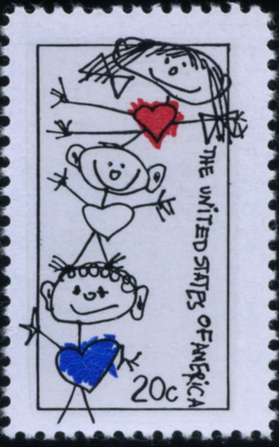 Scott 2104 20 Cent Stamp Family Unity