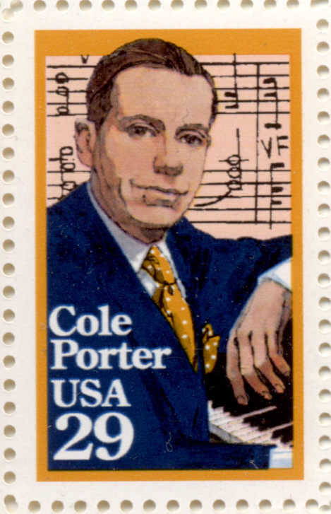 Cole Porter 29 Cent Stamp Scott 2550