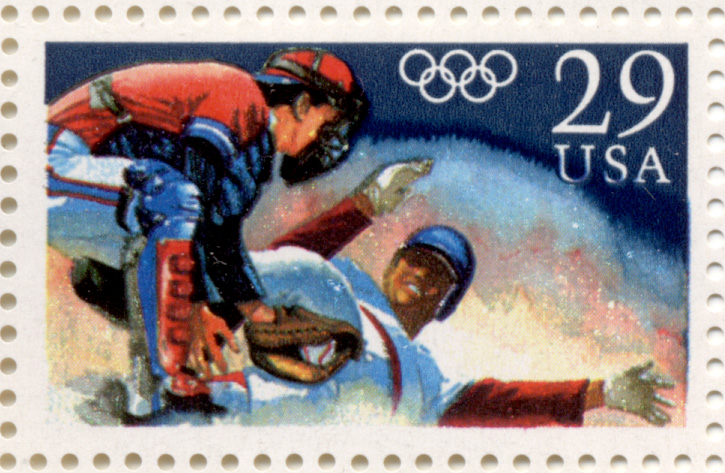 Scott 2619 Olympic Baseball 29 Cent Stamp