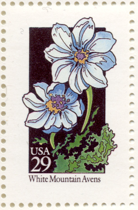 Scott 2661 Wildflowers White Mountain Avens 29 Cent Stamp