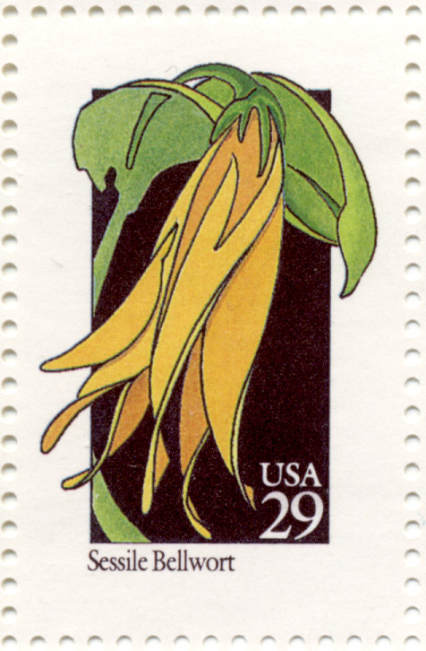 Scott 2662 Wildflowers Sessile Bellwort 29 Cent Stamp
