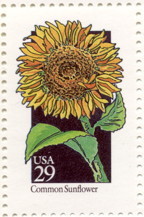 Scott 2666 Wildflowers Common Sunflower 29 Cent Stamp