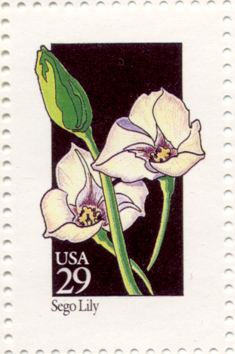 Scott 2667 Wildflowers Sego Lily 29 Cent Stamp