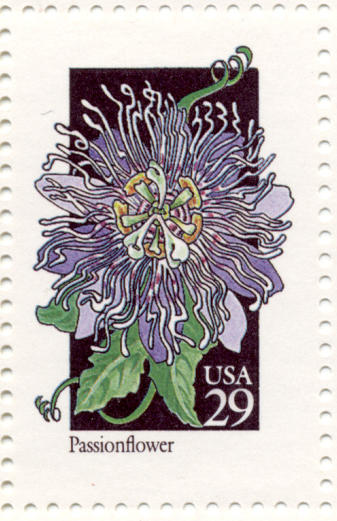 Scott 2674 Wildflowers Passionflower 29 Cent Stamp