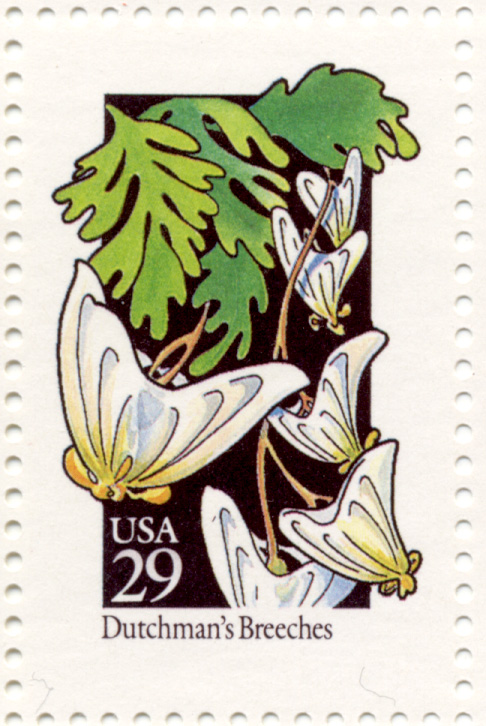 Scott 2682 Wildflowers Dutchman's Breeches 29 Cent Stamp