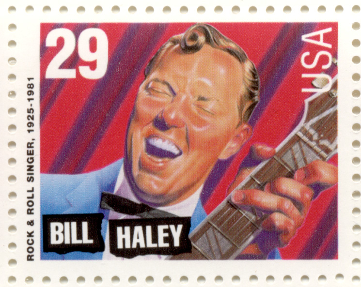 Scott 2725 Rock Roll and Rhythm Blues Bill Haley 29 Cent Stamp
