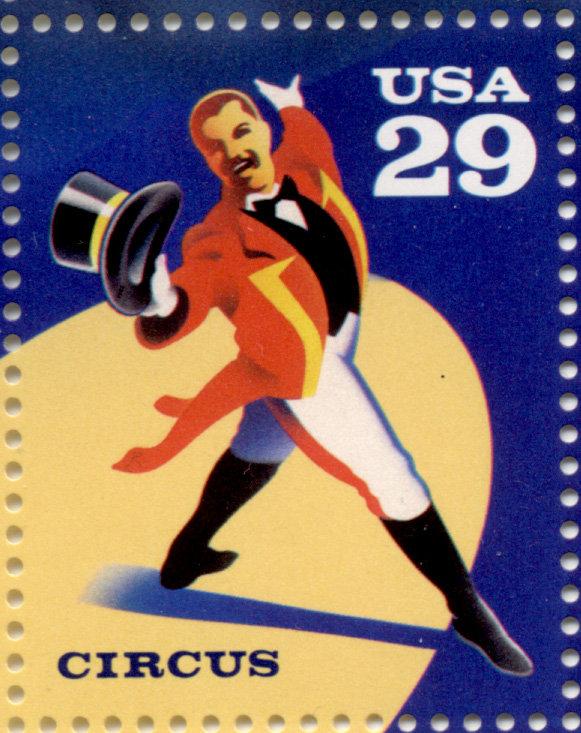 Scott 2751 Circus Ringmaster 29 Cent Stamp