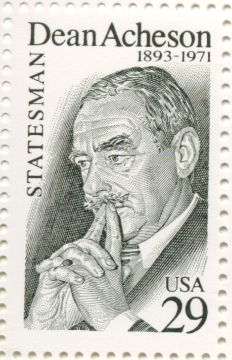Scott 2755 Dean Acheson 29 Cent Stamp