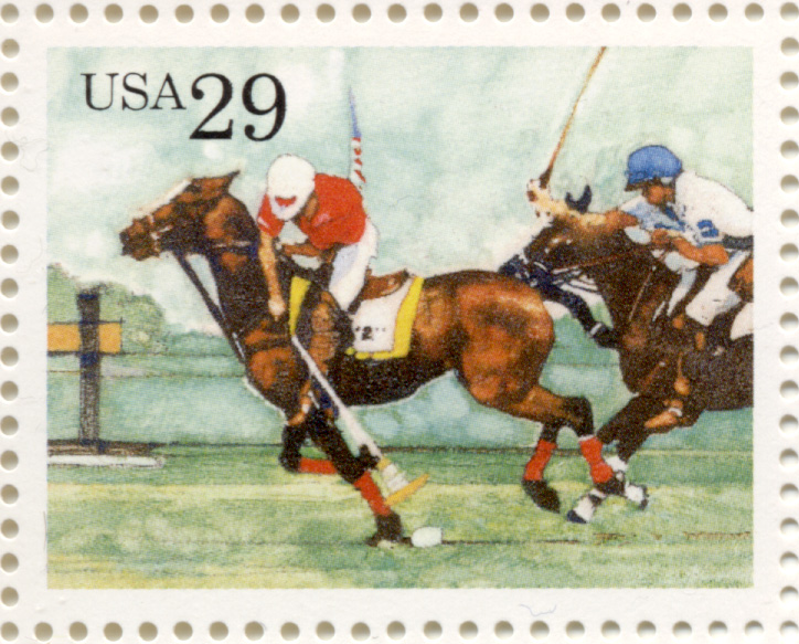 Scott 2759 Horse Sports Polo 29 Cent Stamp