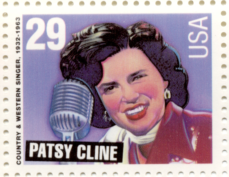 Scott 2772 Country and Western Patsy Cline 29 Cent Stamp