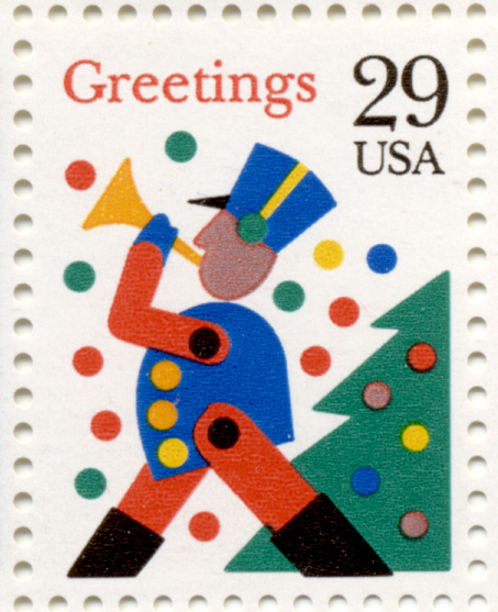 Scott 2794 Toy Soldier 29 Cent Christmas Stamp