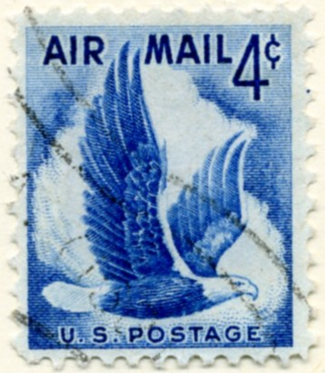 Scott C48 Eagle In Flight 4 Cent Airmail Stamp a