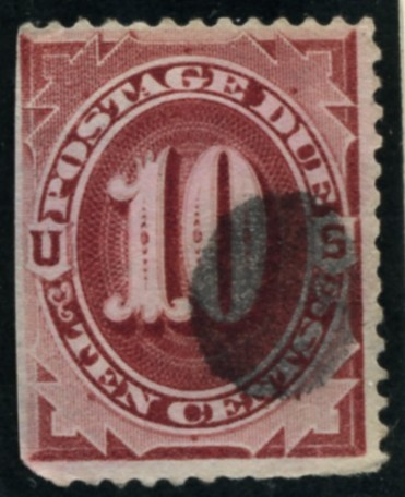 Scott J26 10 Cent Postage Due Stamp