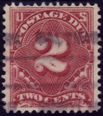 Scott J32 2 Cent Postage Due Stamp