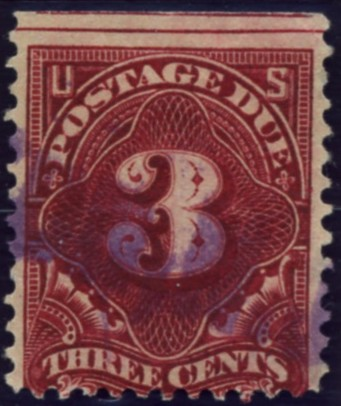 Scott J33 3 Cent Postage Due Stamp