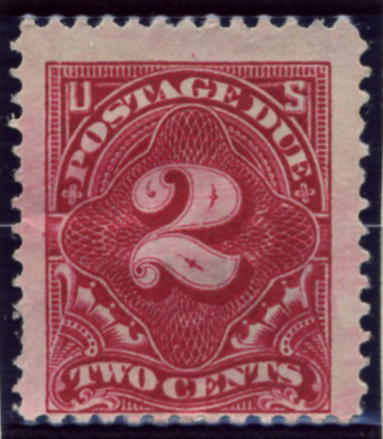 Scott J46 2 Cent Postage Due Stamp