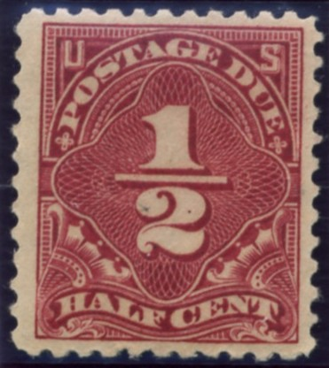 Scott J69 1/2 Cent Postage Due Stamp