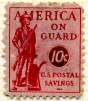 Scott PS11 10 Cents Postal Savings Stamp a