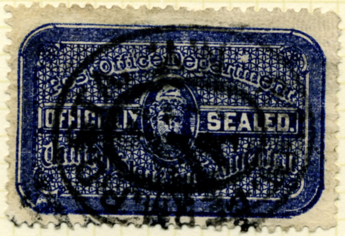 Scott OX12 Post Office Department Official Seal