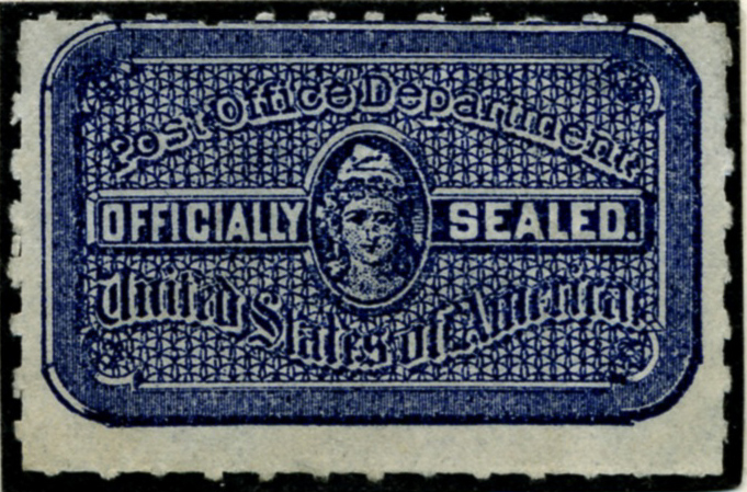 Scott OX12 Post Office Department Official Seal a