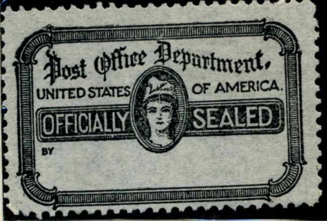 Scott OX18 Post Office Department Official Seal b